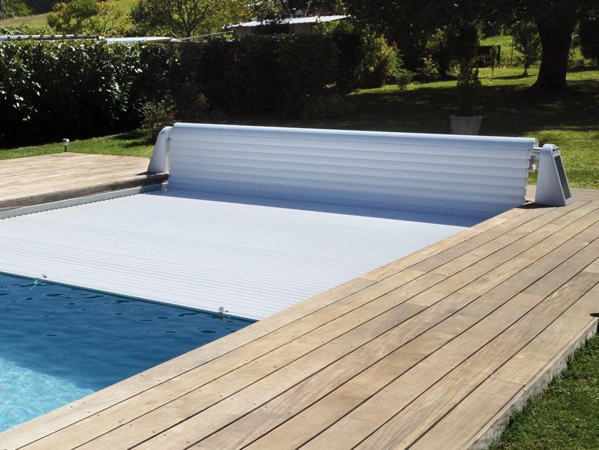 Design piscine for Couverture securite piscine